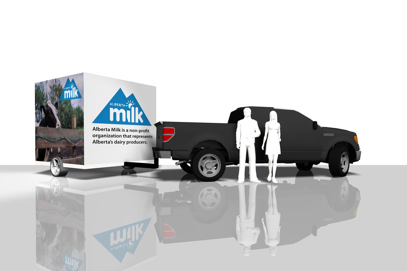Alberta Milk Trailer