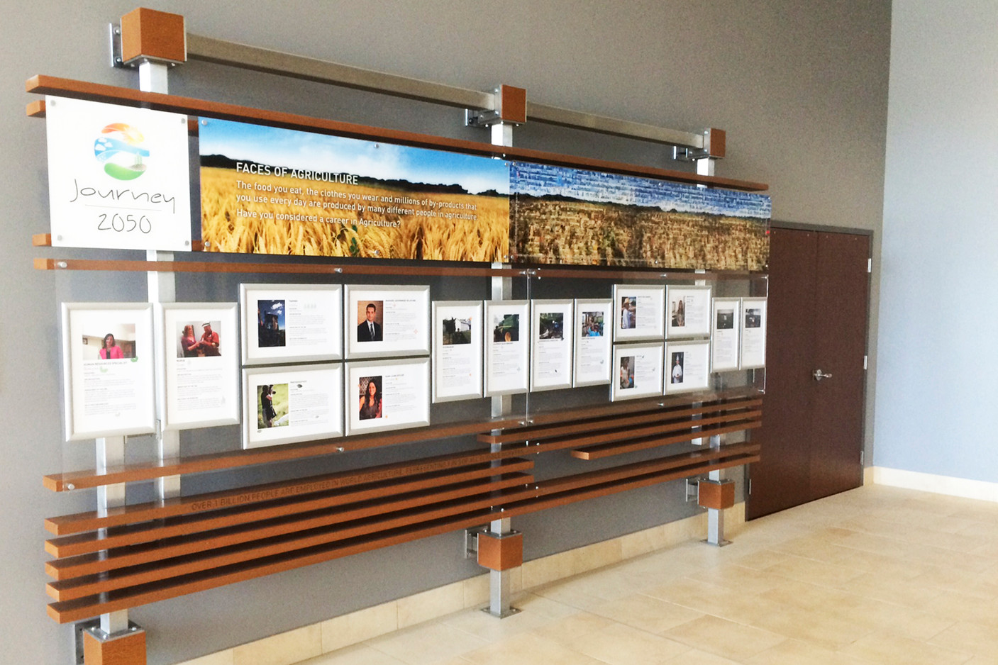 Western Event Centre Lobby Displays
