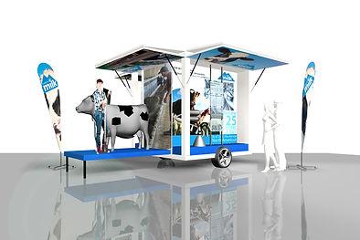 Alberta Milk educational trailer
