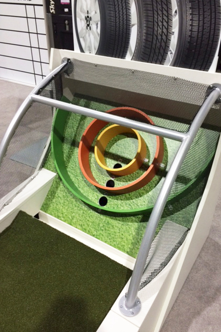 Golf Skee Ball Displays