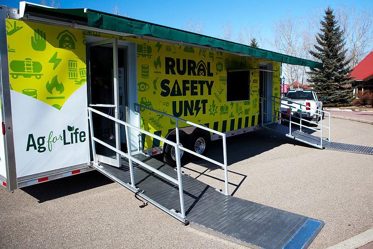 rural safety trailer