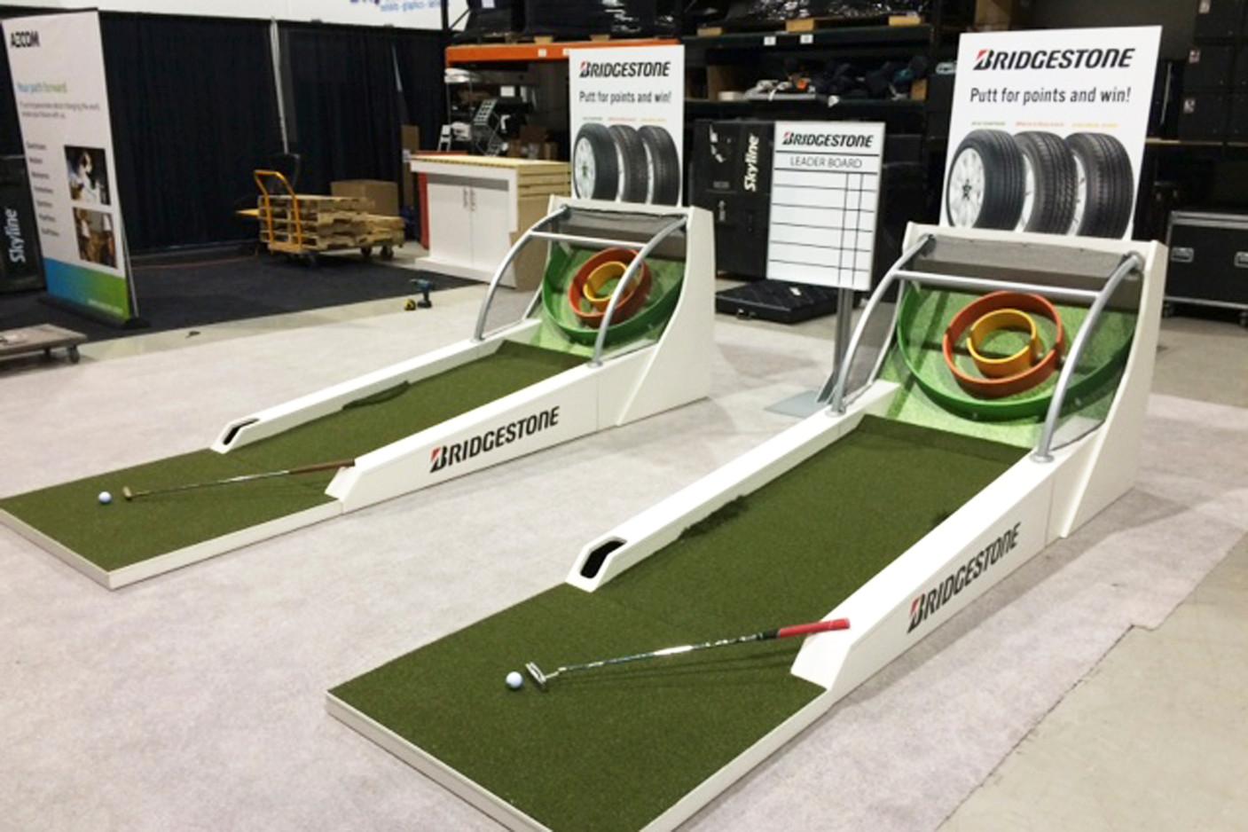 Golf Skee Ball Displays