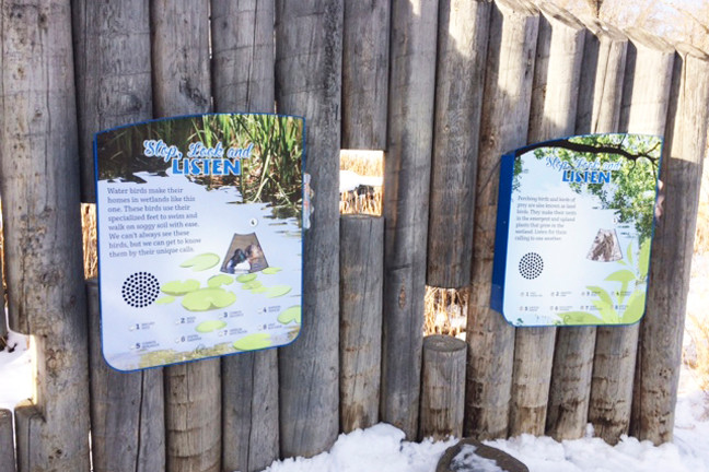 Outdoor Educational Signage