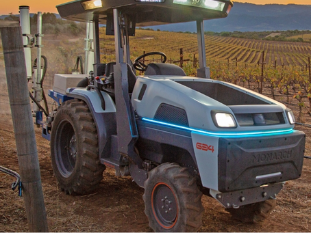 Automated, electric Monarch tractor ready for 2021 deliveries