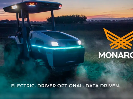 Monarch Unveils Game-changing New Smart Electric Tractor