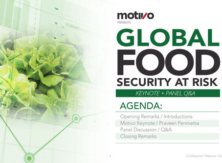 Webinar: Global Food Security