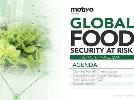Webinar: Global Food Security