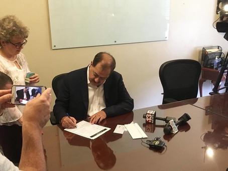 Don Blankenship files for Senate run as member of Constitution Party