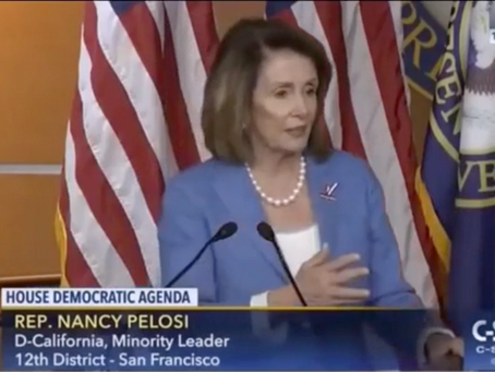 PELOSI EXPLAINS HOW POLITICIANS USE MEDIA TO DEFAME AMERICANS