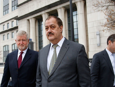 BLANKENSHIP SEEKS PUBLIC APOLOGY FROM MANCHIN, MCCONNELL, FORMER FED PROSECUTORS AND JUDGE