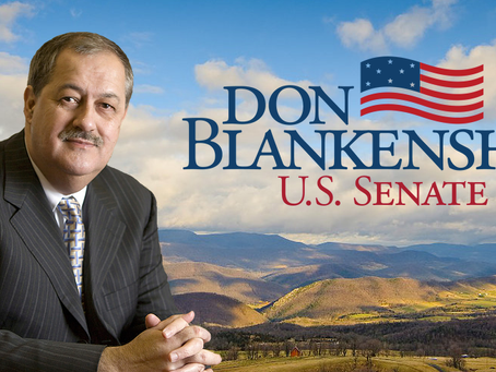 Blankenship Provides Update On U.S. Senate Candidacy