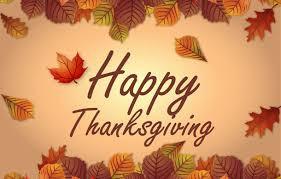 Happy Thanksgiving !!!!