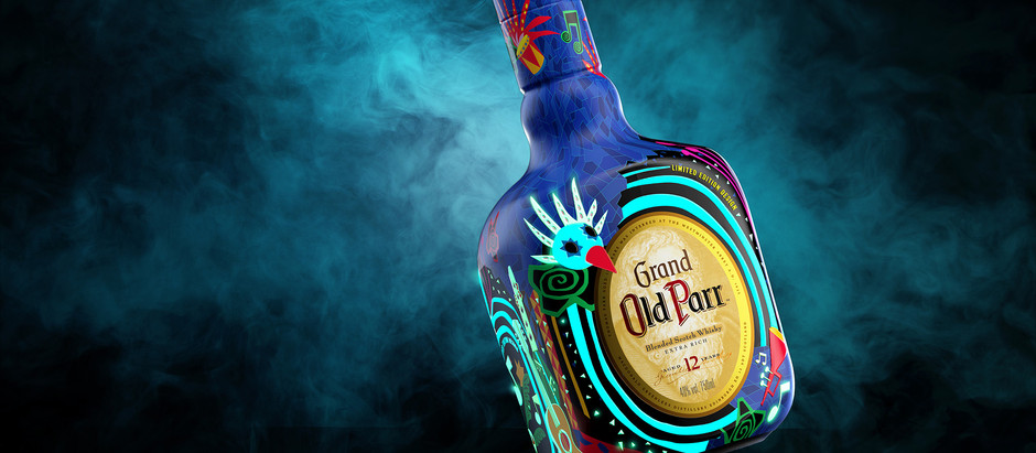 Old Parr Glow in the Dark