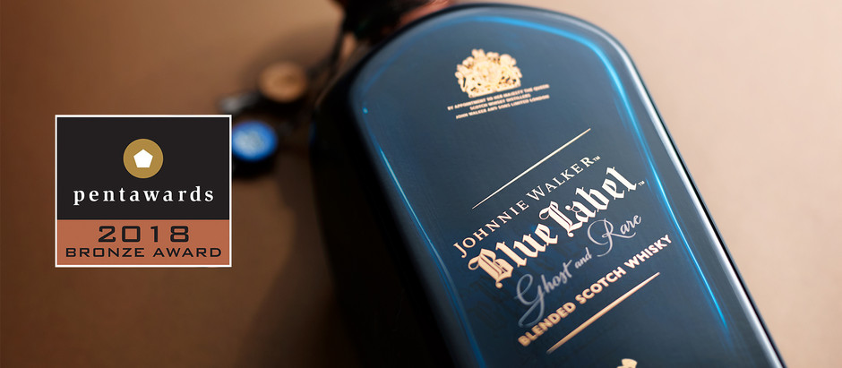 forceMAJEURE wins Pentawards for Johnnie Walker Blue Label Ghost & Rare