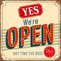 YES We are OPEN Vintage.jpg
