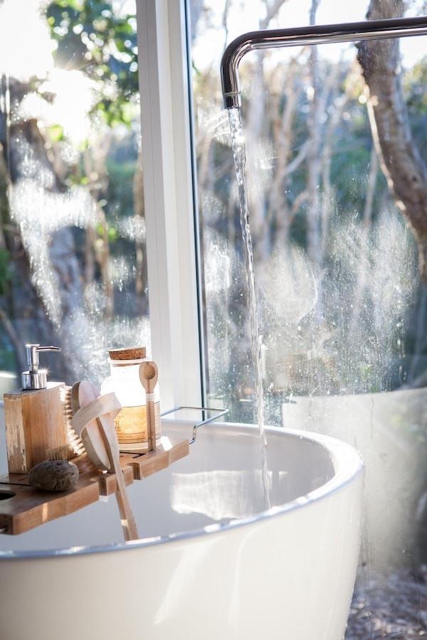 bain relaxant fait maison lavande camomille