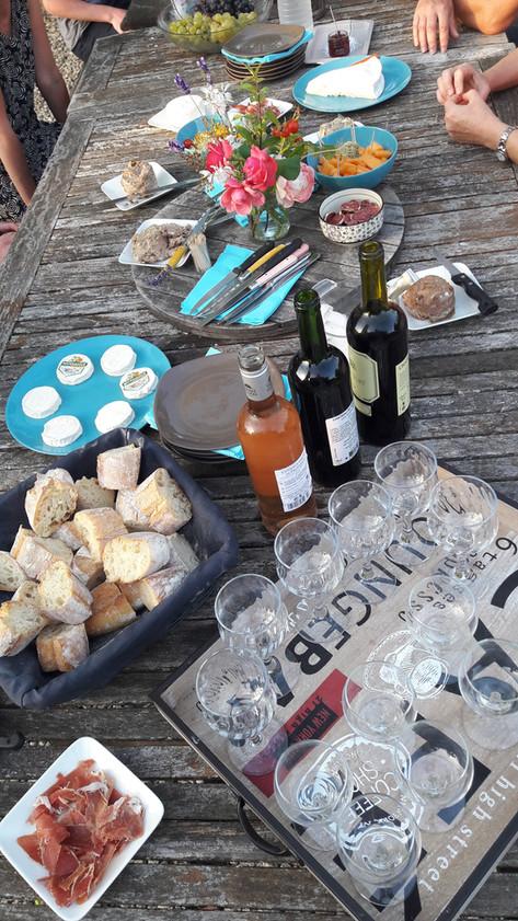 Soirées vin / fromage aux Arts du Bout