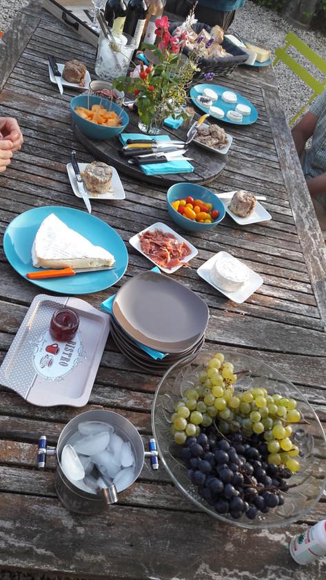 Wine / cheese evenings