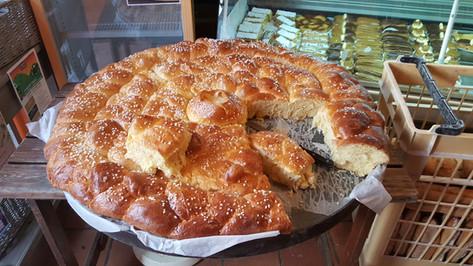 Brioche géante chez notre boulanger local