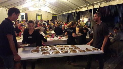 Annual village party at Les Arques