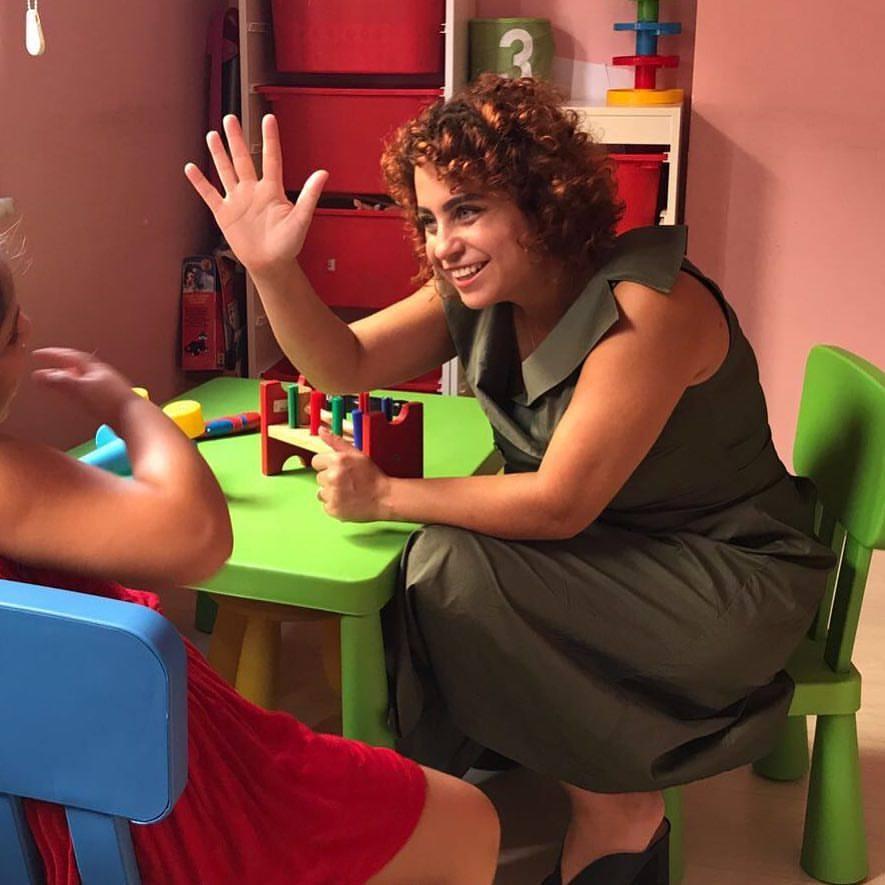 Ebru Sidar in Floortime Session