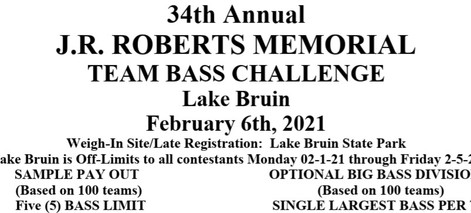 J.R. Roberts Memorial Team Bass Challenge