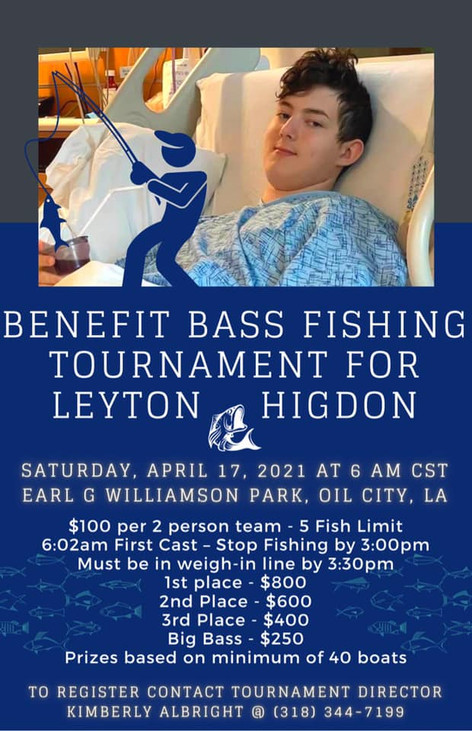 Benefit Bass Tournament