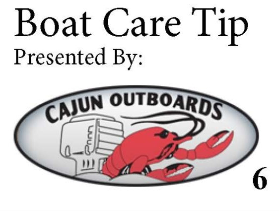 Boat Care Tip by Cajun Outboards