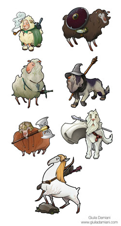 The FellowSheep of the Ring