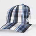 Plaid Mesh Trucker Snap Back Hat