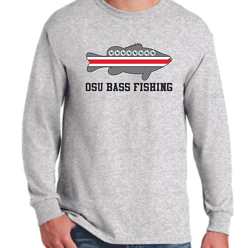 Ohio State Bass Fishing Club Long Sleeve Tee