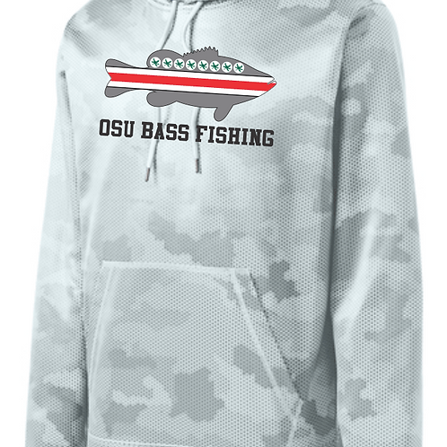 Ohio State Bass Fishing Club Performance Hoodie