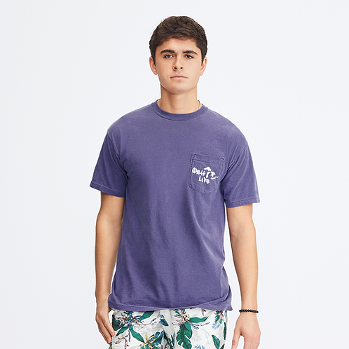 Great Life Pigment Dyed Pocket Tee