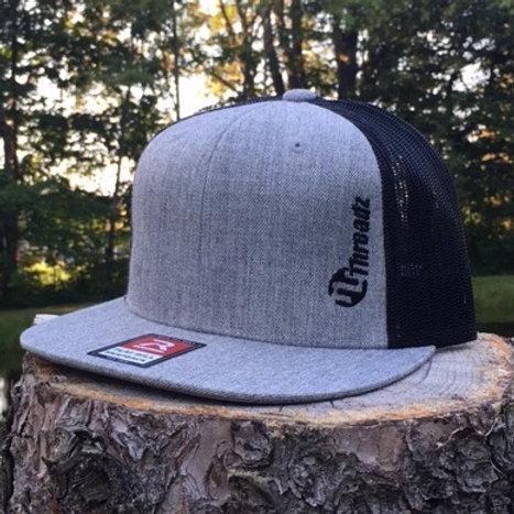 Flat Bill Mesh Trucker Hat