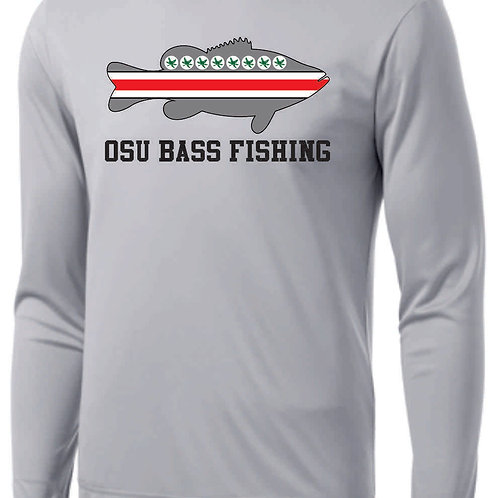 Ohio State Bass Fishing Club Performance Tee