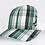 Thumbnail: Plaid Mesh Trucker Snap Back Hat