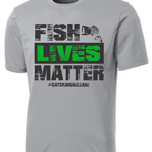 Fish Lives Matter Performance Tee