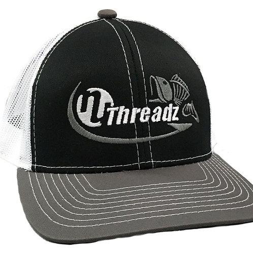 Tri Color Mesh Trucker Hat