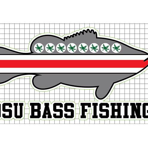 OSU BassFishing Decal