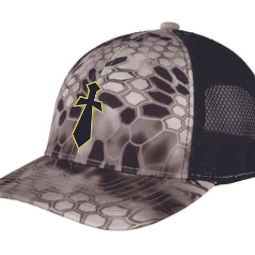 Geauga Knights Hex camo Hat