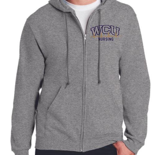 WCU Nursing Full Zip Hoodie