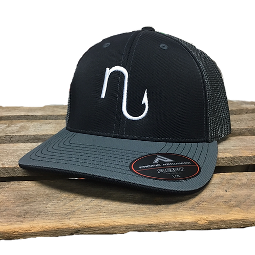 Nu Hook fitted Pacific Trucker Hat