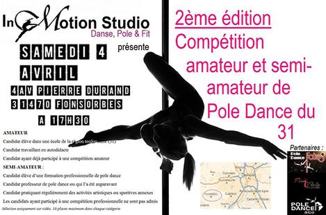 2ème Édition Compétition Amateur et Semi-Amateur du 31 - 4 avril