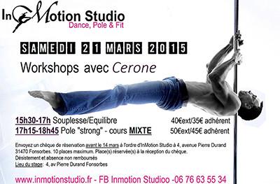 Workshop Cerone - 21 mars