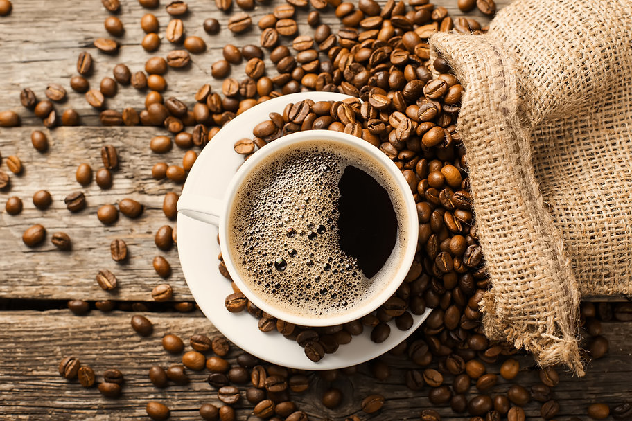 coffee cup and coffee beans.jpg
