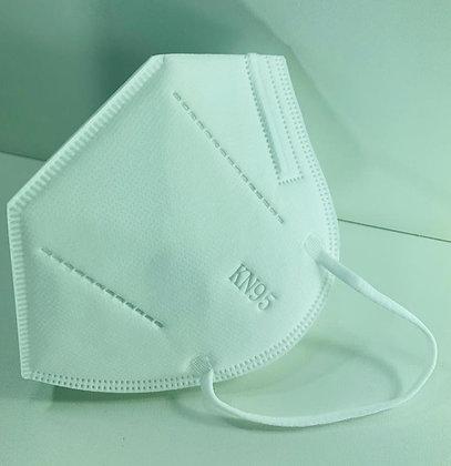 Máscara KN-95 com filtro - Pacote com 5 unidades