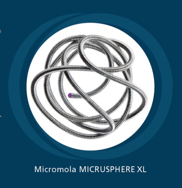 Mola de embolização Micrusphere XL