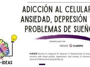 Smartphones: Depresión, Ansiedad e Insomnio.
