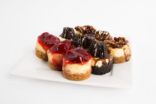 1 Dozen Cheesecake Minis Variety Pack (up to 6 flavors including Premium flavor)