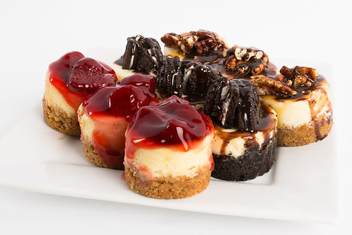 1 Dozen Cheesecake Minis Variety Pack (up to 4 flavors)